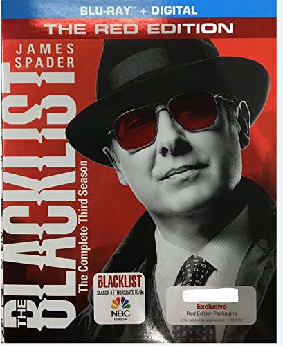 The Blacklist - The Complete Third Season - The Red Edition (Blu Ray + Digital)