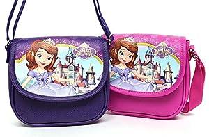 Disney Little Princess Sofia Cover Pouch shoulder (PINK/PURPLE) IE5006
