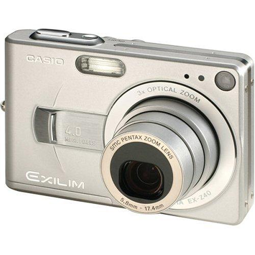 Casio Exilim EX-Z40 4MP Digital Camera with 3x Optical Zoom