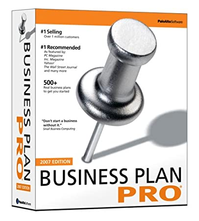 Palo Alto Business Plan Pro 2007 [OLD VERSION]
