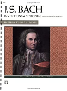 Bach -- Inventions Sinfonias 2 3 Part Inventions Alfred Masterwork Editions by Alfred Publishing Company