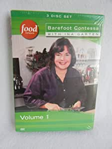 Food network barefoot contessa with ina garten volume 1 dvd movies tv - Barefoot contessa cooking show ...