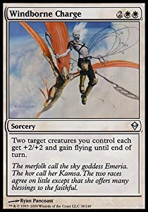 Magic: the Gathering - Windborne Charge (38) - Zendikar - Foil by Magic%3A the Gathering