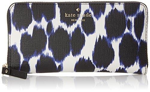 kate spade new york Emma Lane Fabric Lacey Wallet, Deep Indigo Multi, One Size