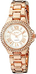 XOXO Women's XO5768 Analog Display Analog Quartz Rose Gold Watch