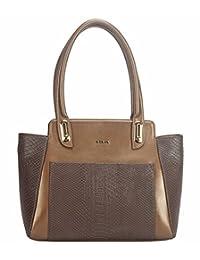 Adamis Beautiful Designed Handbag (Brown_B708)
