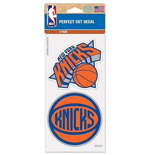 NBA New York Knicks 65438011 Perfect Cut Decal (Set of 2), 4
