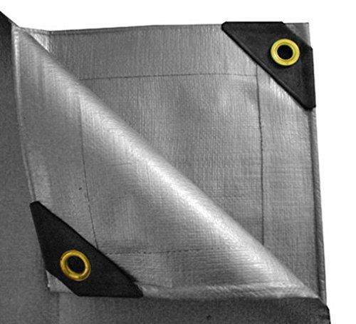 12 x 16 Heavy Duty Canopy Tarp – Silver