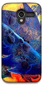 The Racoon Lean printed designer hard back mobile phone case cover for Moto X (1st Gen). (For DOg Lo)