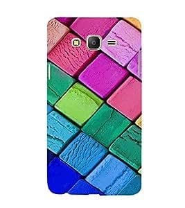 EPICCASE Colorful Chalk Pattern Mobile Back Case Cover For Samsung Galaxy E7 (Designer Case)