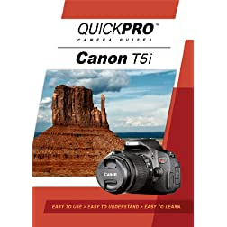 Canon T5i Instructional DVD by QuickPro Camera Guides