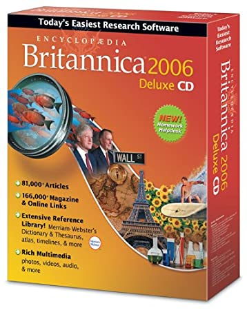 Encyclopedia Britannica 2006 Deluxe Win/Mac [Old Version]