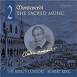 echange, troc Monteverdi, King, King's Consort - Sacred Music 2