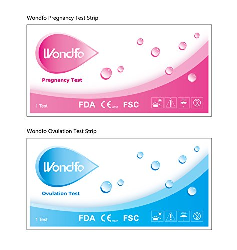 Wondfo Combo 50 LH Ovulation & 20 HCG Pregnancy Test Strips