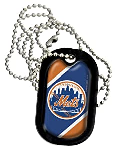 MLB New York Mets Necklace Dog Tag