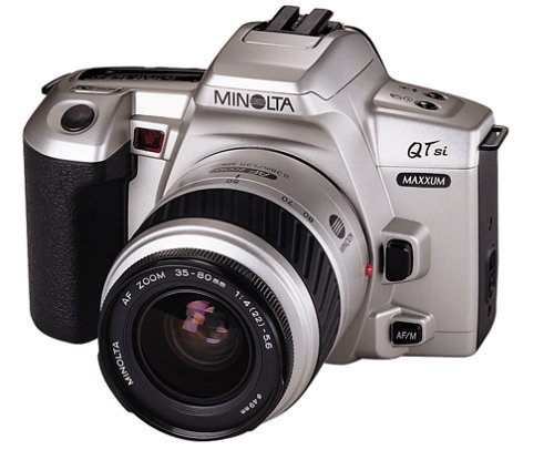 Buy Discount Minolta Maxxum QTsi 35mm SLR Camera Kit w/ 35-80mm Lens