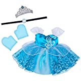 Build a Bear Workshop, Cinderella Costume 4 pc. - Teddy Bear Clothing