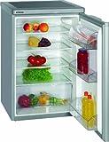Bomann VS 198 Kühlschränke / A++ / 84.5 cm Höhe / 92 kWh/Jahr / 130 L / stufenlose Temperatureinstellung / silber
