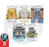 M.C. Beaton M.C. Beaton Agatha Raisin 5 Books Collection Set, (Agatha Raisin and the Terrible Tourist, Agatha Raisin and the Wellspring of Death, Agatha Raisin and the Wizard of Evesham, Agatha Raisin and the witch of Wyckhadden AND Murderous Marriage