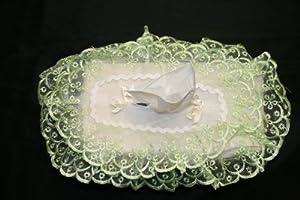 Lace Tissue Box Cover
