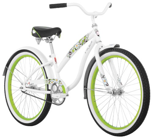 Diamondback Della Cruz Girls' Cruiser Bike (24-Inch Wheels)
