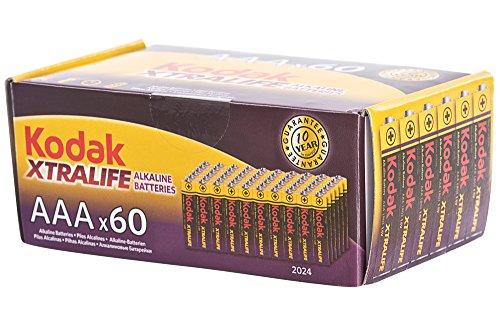 Kodak - Pila alcalina AAA (60 unidades) 0983-X
