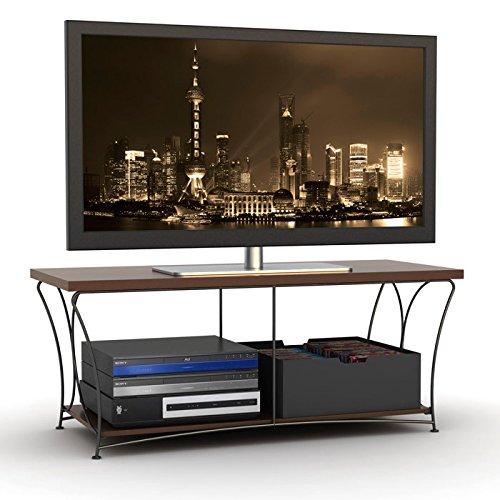 hot hot hot sale atlantic nuvo 43 tv stand corner flat. Black Bedroom Furniture Sets. Home Design Ideas