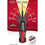 Apollo Precision Tools DT1019 Mr. 7 Hands Multi-End Screwdriver