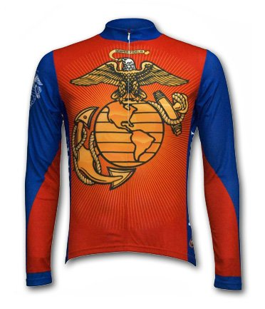 Buy Low Price US Marines L/S Jersey (USMCJ12M)