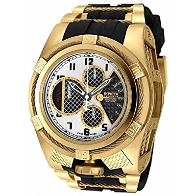 Invicta Men's 'Bolt' Swiss Quartz Stainless Steel Casual Watch (Model: 16320)