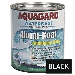 AQUAGARD Aquagard II Alumi-Koat Anti-Fouling Waterbased - 1Qt - Black / 70001 /