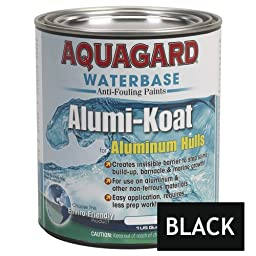 1 - Aquagard II Alumi-Koat Anti-Fouling Waterbased - 1Qt - Black