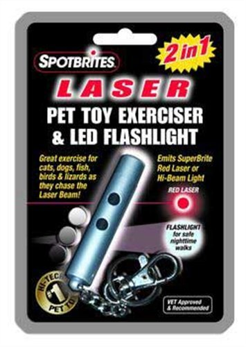 2 In 1 Laser Pet Toy And Led Flashlight