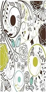 Snoogg Retro Floral Background Designer Protective Back Case Cover For Samsun...