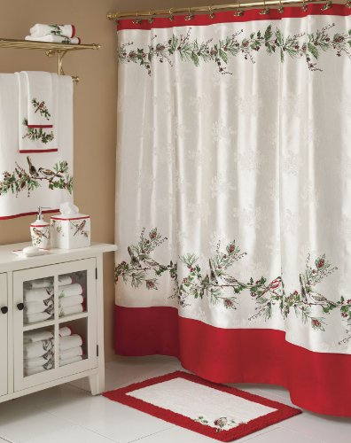 Amazing Lenox Winter Song Shower Curtain 72