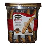 Nonnis Cioccolati & Chocolate Hazelnut Biscotti, 25 Count