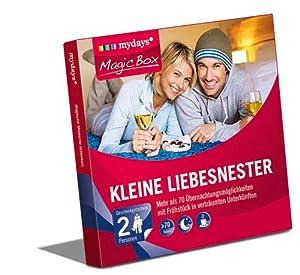 mydays Magic Box: Kleine Liebesnester - Über 80 Übernachtungen in Hotels deutschland- & österreichweit