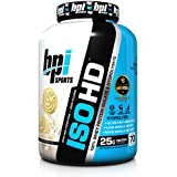 BPI Sports ISO HD Whey Protein Isolate and Hydrolysate, Vanilla Cookie, 4.9 Pound