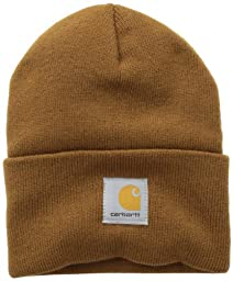 Carhartt Men\'s Acrylic Watch Hat,Brown,One Size