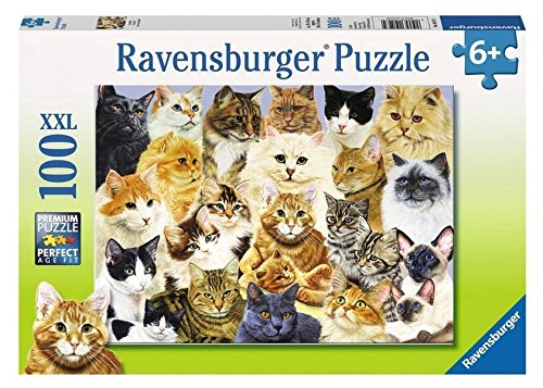 Ravensburger Cat Pride Puzzle (100-Piece)