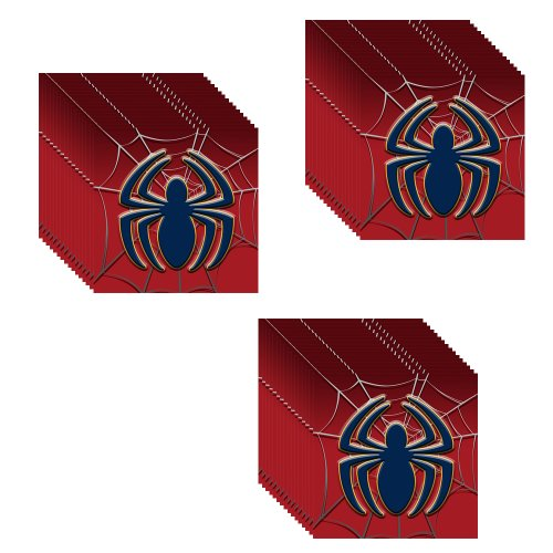 Marvel Ultimate Spiderman Spider Hero Dream Party Lunch Napkins - 24 Guests - 1