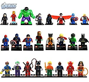 Minifigures Super Heroes Figure by Other