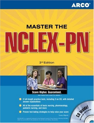 Nclex - Pn Certification Exams 3Rd Ed (Master The Nclex- Pn Certification Exams)