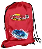 Beyblade - 07051156 - Fourniture Scolaire - Gym Bag - Let it Rip - Red - 38 cm