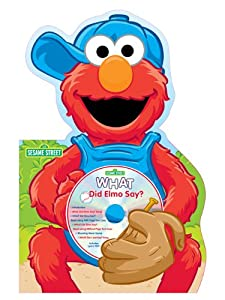 Bendon Sesame Street Elmo Die-Cut Board Book