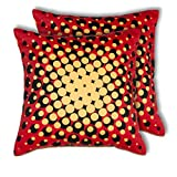House This Bike-Supernova Red Set Of 2 Cushion Covers- 16 X 16