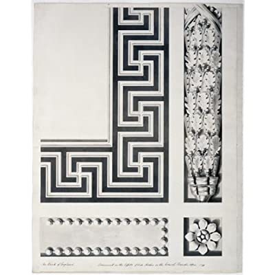 Greetings Card: Design for the Consols Transfer Office Cornice
