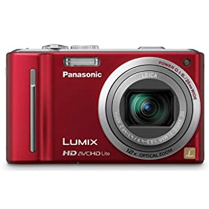Panasonic Lumix DMC-ZS7 Digital Camera with 12x Optical IS Zoom $257