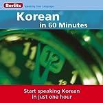 Korean...In 60 Minutes    Berlitz