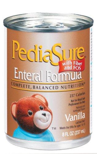 Pediasure 8Oz Can Vanilla/Enteral Formula With Fiber